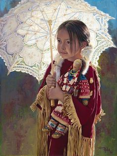 Paintings of Native American Indians by Karen Noles
