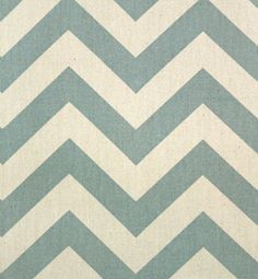 Zig Zag Village Blue / Natural   Online Discount Drapery Fabrics and Upholstery Fabric Superstore!