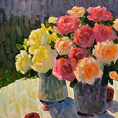 Gregory Packard, original landscape, still life and figurative paintings