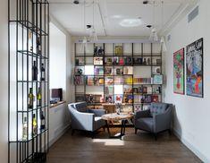 Книжный магазин Pioner Bookstore в Москве
