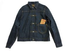 New with tags - True Religion Iron Horse Dark Blue Denim Jean Jacket--Size 2X-Large