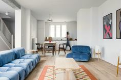 Photo 1 of 12 in A Family's Loft in Poland Gets a Minimalist Renovation That's Both Elegant and Functional - Dwell