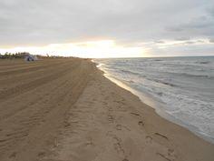 Playa de Castelldefels (beach, boardwalk) - Castelldefels, Spain