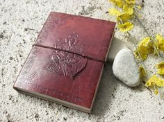 Amazon.com : Ganesha Designed Leather Journal Pocket Diary (8 x 6 inches) Notebook with Handmade Papers : Hardcover Executive Notebooks : Office Products