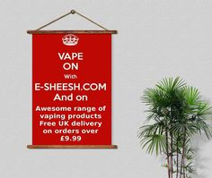 Over 80 e-liquids to choose from http://www.e-sheesh.com