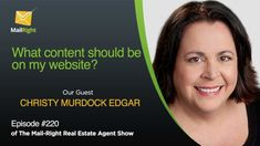 Special Guest Christy Murdock Edgar discusses his opinions with the Mail-Right Team What content should be on your website? Google Search Results, My Website, Blog Topics, Special Guest, How To Run Longer, Internet Marketing, Digital Marketing, Improve Yourself, Investing
