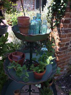 a very green set up! rustic garden shoot - august 2015