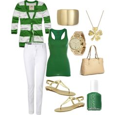 """""""St. Paddy's Day Outfit"""""""