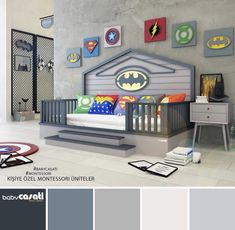Go look at our information site for a lot more regarding this excellent photo Boys Bedroom Decor, Teen Bedroom, Party Set, Deco Kids, Superhero Room, Small Space Interior Design, Kids Corner, Room Themes, Boy Room
