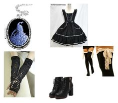 """""""Untitled #75"""" by jadziah-blackman ❤ liked on Polyvore featuring Couture by Lolita"""