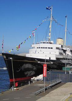 The Royal Yacht Britannia, Edinburgh, Scotland.
