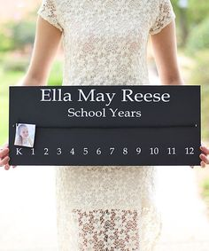 Look at this Personalized School Years Sign on #zulily today!