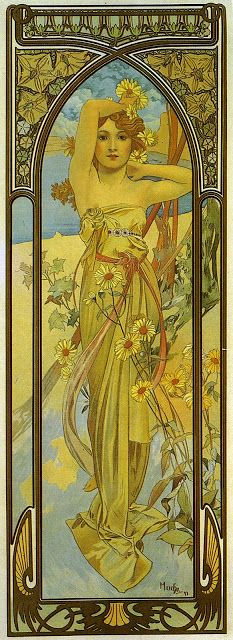 INTO THE VAGUE: The Art of MUCHA