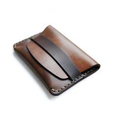MakrCordovan Flap Slim Wallet