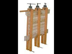 вайма своими руками, как сделать деревянный щит, wooden board - YouTube