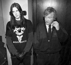 Black metal and dad