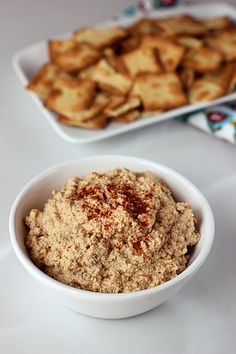 Chipotle Almond Spread / Dip  (w/other Favor Variations) – Gluten-free/Grain-free +  Vegan