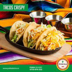 Îţi face poftă un #Taco?  #livrărimâncare #cluj #POKKA