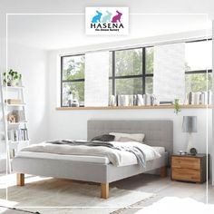 "Preiswert und sofort lieferbar:  HASENA Dream Pronto Bett ""Noemi"" 20/25 Classic, Furniture, Home Decor, Bed, Ideas, Simple, Derby, Decoration Home, Room Decor"