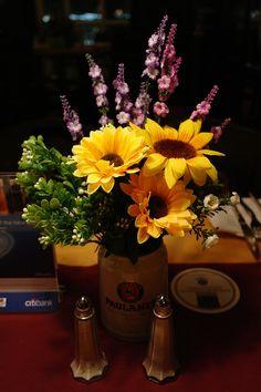 Paulaner's Flower Mug