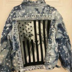 Custom denim jacket i made
