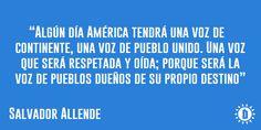 Recordando a Salvador Allende, por una América Latina unida