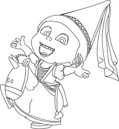 Print Out Disney Two Eyed Minion Tim Despicable Me 2