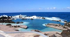 Porto Moniz, Madeira, Portugal  Lava pools