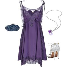 """""""Lilac & Teal"""" by style-inspiration-and-design on Polyvore"""
