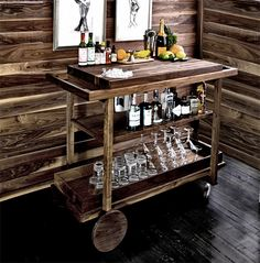 Bar Cart no. One by The New Traditionalists at werd.com