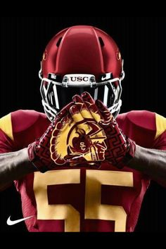 USC Athletics' photo: The new Nike gloves will look good on the best wide receiving corps in America. WE PLAY WITH STYLE Usc Basketball, Football Jerseys, Football Helmets, Indoor Basketball, Football Fight, Football Gloves, Football Baby, College Football Uniforms, Team Uniforms