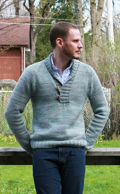 Jared Flood's Brownstone pattern, knit in a one of a kind colourway