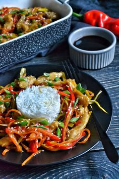 Chow Mein, Chow Chow, Good Food, Yummy Food, Asian Recipes, Ethnic Recipes, Sushi, Grilling, Food And Drink