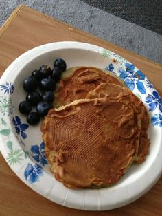 Banana Egg Protein Pancakes with PB2