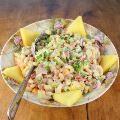 Linked to: palatablepastime.com/2014/04/23/hawaiian-macaroni-salad/