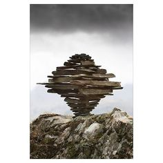 Castle Crag Tornado Cairn