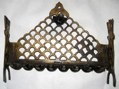 Antique Bronze #Hanukkah Oil Lamp Menorah Decorated Italy Judaica 19th Century Offered by #CollectingTrends on Bonanza