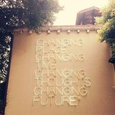 sign in VENICE, ITALY via designlovefest