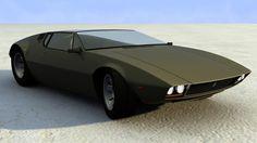 Concept Car:  De Tomaso Mangusta Legacy Concept by Maxime de Keiser
