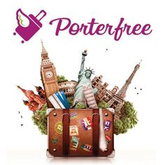 #travel #holidays #suitcase #porterfree
