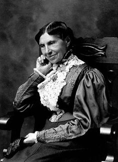 Clara Barton  (1821 – 1912) nurse during the Civil War, founded American Red Cross
