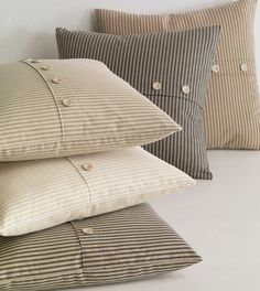Luxury Bedding by Eastern Accents - Heirloom Cotton Ticking Collection
