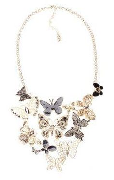 Cute butterflies necklace