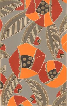 Aline Cauvin wall paper 1930 Collection