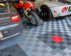 1000 Images About Garage Floor Tile Patterns On Pinterest