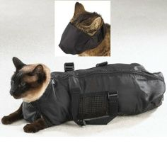 Downtown Pet Supply - SMALL Cat Grooming Bag FREE Cat Muzzle, Bag measures: 43 cm Long x 23 cm Wide * To view further for this article, visit the image link. Dog Grooming Supplies, Cat Grooming, Pet Supplies, What Cats Can Eat, How To Cut Nails, Long Haired Cats, Cat Accessories, Small Cat, Fat Cats