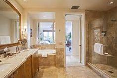Master bath ideas with soaking tub walk through closet to bathroom for new ideas master bedroom . master bath ideas with soaking tub Walk Through Shower, Walk Through Closet, Walk In Closet, Bathroom Layout, Small Bathroom, Master Bathroom, Spanish Bathroom, Dream Bathrooms, Bathroom Designs