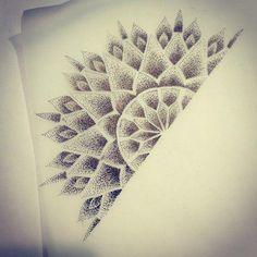 Trendy tattoo mandala foot dots Ideas - New Ideas Dot Tattoos, Neue Tattoos, Dot Work Tattoo, Trendy Tattoos, Sleeve Tattoos, Tattoos For Guys, Mandala Tattoo Design, Half Mandala Tattoo, Dotwork Tattoo Mandala