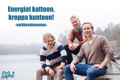 Energiat kattoon, kroppa kuntoon! -verkkovalmennus | Lifted.fi