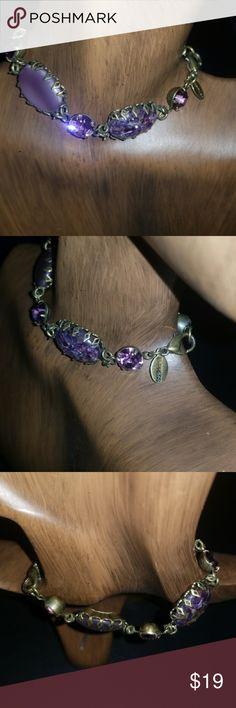 Amethyst stone bracelet Beautiful amethyst stone bracelet looks beautiful. Express Jewelry Bracelets